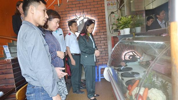 Sở Y tế Hà Nội kiểm tra ATTP tại Quận Ba Đình