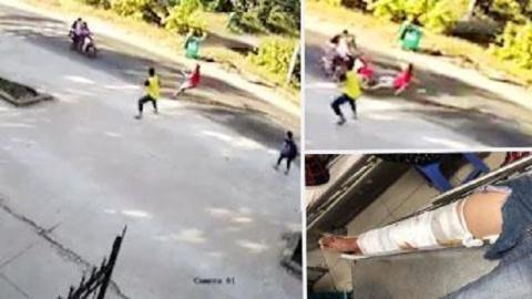 Phó trưởng công an bị kéo lê khi chặn bắt trộm