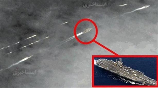 Mỹ mang vũ khí đặc trị khi 20 tàu Iran bám đuôi