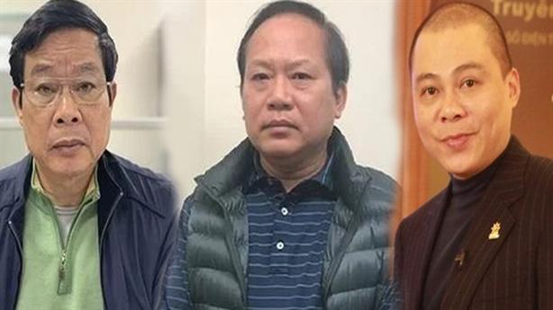 Hai cựu Bộ trưởng chính thức hầu tòa