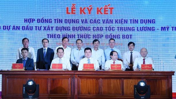 <FONT color=#000000>Thu xếp gần 7.000 tỷ cho cao tốc Trung Lương-Mỹ Thuận</FONT>