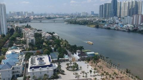 TP.HCM soát pháp lý tất cả dự án ven sông Sài Gòn