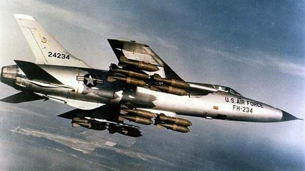 Số phận 'Thần Sấm' Mỹ trên bầu trời Việt Nam F-105 Thunderchief