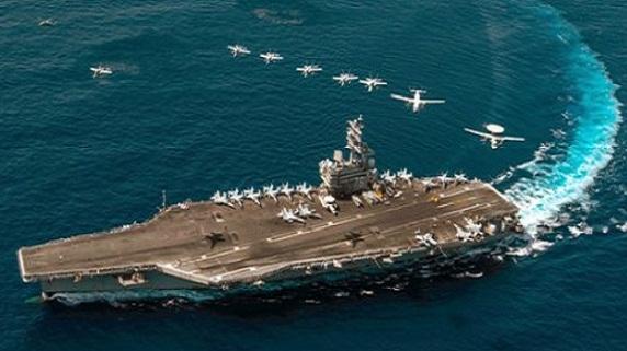 CVN-78 Gerald Ford: Một tấm bia khổng lồ trên biển?