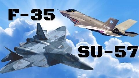 Su-57 răn đe đánh chặn F-35 trên bầu trời Syria?