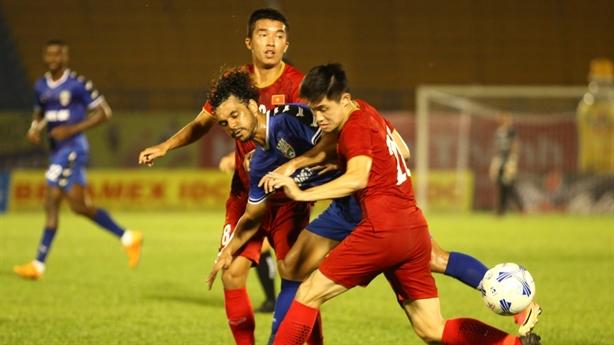 CLB B.Bình Dương VĐ Giải bóng đá Quốc tế Cúp Number 1
