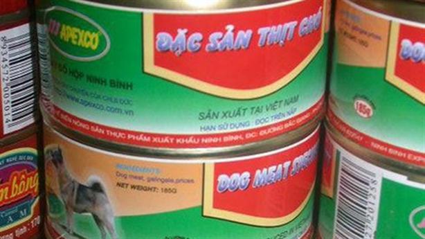 Vụ xưởng sản xuất thịt chó đóng hộp: 'Chó cũng như gà'