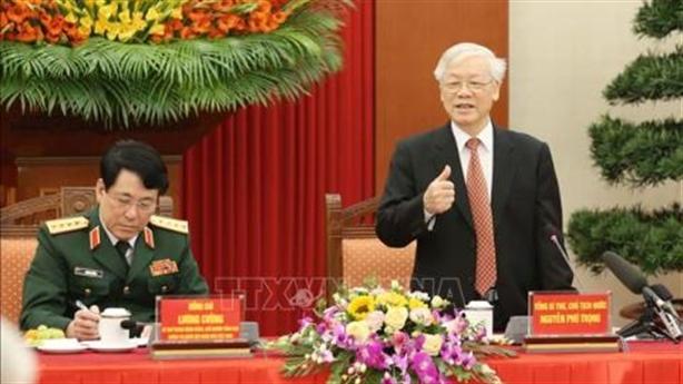 Tổng Bí thư Nguyễn Phú Trọng: Người dân cũng là chiến sĩ