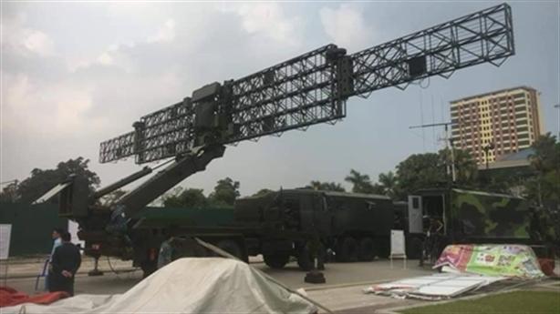 Việt Nam công bố radar bắt gọn tàng hình