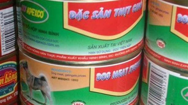 Vụ xưởng thịt chó đóng hộp: 'Đừng chê bai kiểu adua