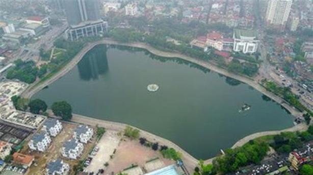 Lại đề xuất lấp một phần hồ Thành Công xây chung cư