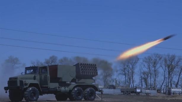 Vũ khí siêu lớn tái xuất tại Đông Ukraine