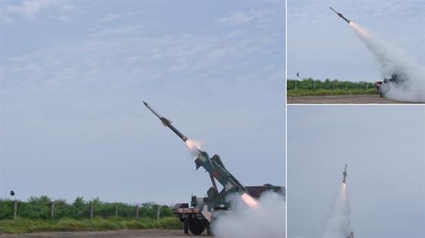 Hệ thống QRSAM diệt gọn tên lửa hành trình
