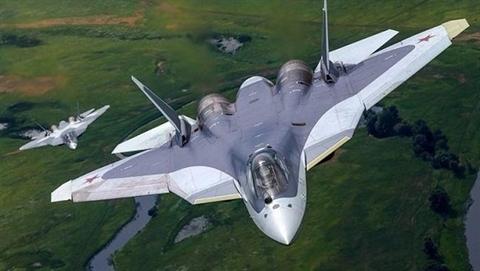Thần điểu Su-57/T-50 Nga bị rơi vì động cơ Izdelie 30?