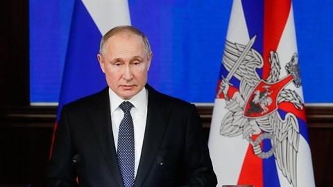 Ông Putin: Người Nga đã hành xử khác châu Âu