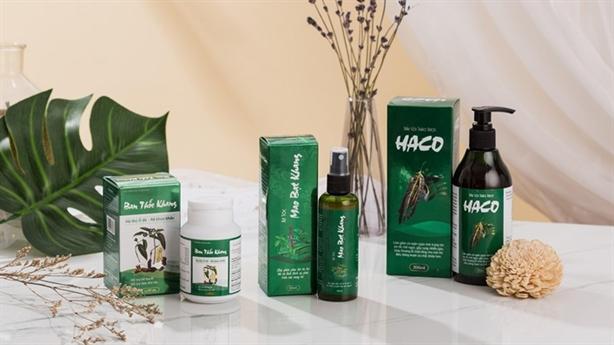 Bộ sản phẩm Tóc Haco hỗ trợ bảo vệ tóc toàn diện