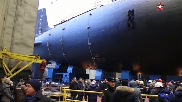 Nga hạ thủy loại tàu ngầm chỉ mình Mỹ đối phó được