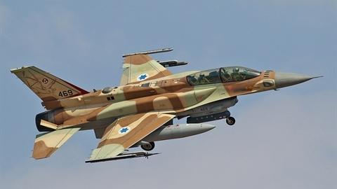 F-16 Israel 'chạy hết tốc lực' khi bị S-300 Syria ngắm bắn?