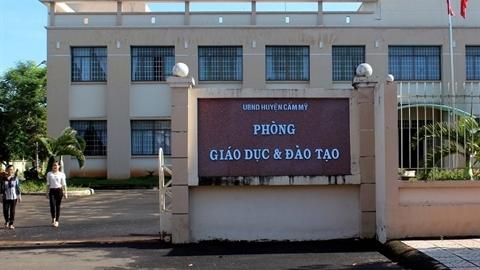 Phát hiện 19 người thi viên chức Đồng Nai bị sửa điểm