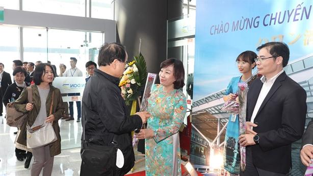 Sân bay Vân Đồn đón hai chuyến bay từ Nhật Bản