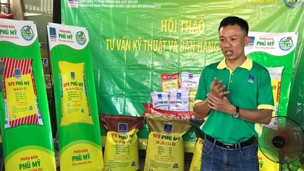 PVFCCo cung ứng gần 1 triệu tấn phân bón