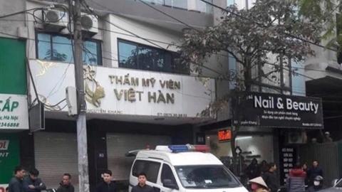 Cán bộ tử vong khi hút mỡ bụng:CA Hà Nội điều tra
