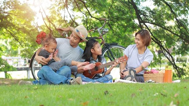 Gia đình trẻ chọn không gian xanh ở đô thị vệ tinh