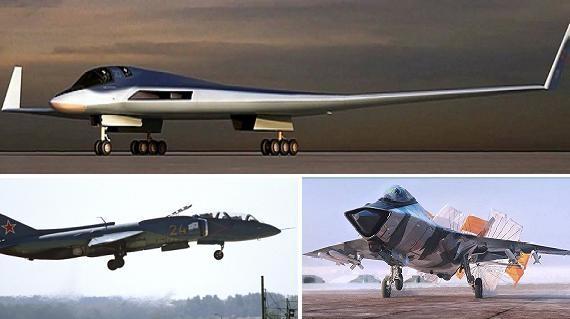 Mỹ ấn tượng với 5 loại máy bay Nga