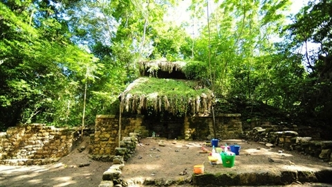 Bí mật cung điện cổ người Maya vừa tìm thấy giữa rừng