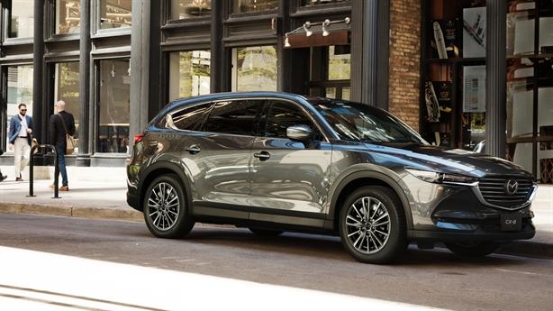 Mazda CX-8 Deluxe - lựa chọn SUV 7 chỗ dưới 1,1 tỷ đồng