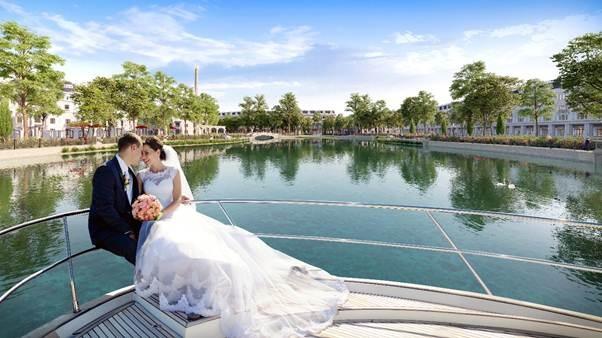 Công viên hồ Mắt Rồng– Điểm nhấn tại Danko City Thái Nguyên