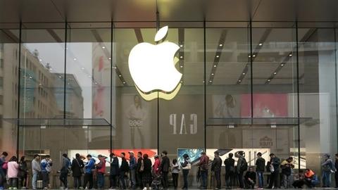 Apple báo doanh số khủng ở thị trường tỉ dân