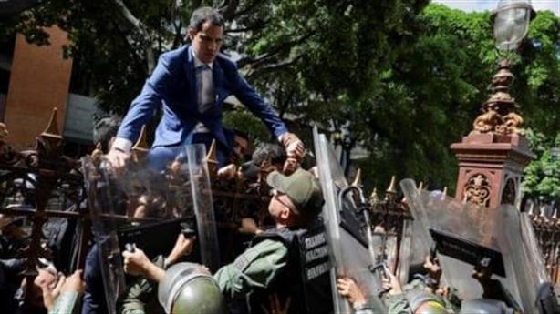 Ông Guaido đòi trừng phạt Nga: Mỹ cũng bó tay?