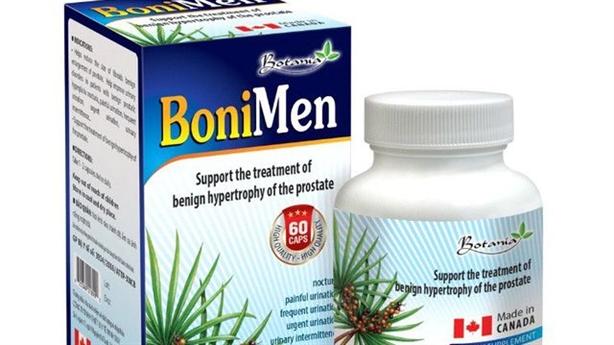 BoniMen – Bí quyết cải thiện sinh lý, phì đại tuyến tiền liệt