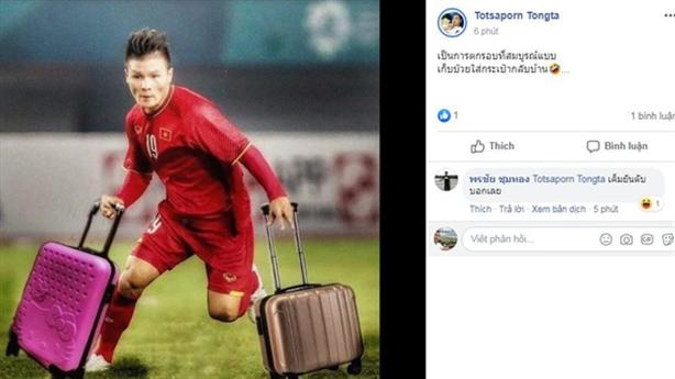 CĐV Thái Lan làm trò trước thất bại của U23 Việt Nam