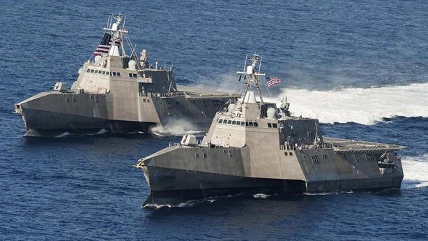 Sức mạnh chiến hạm tàng hình Iran trước Mỹ