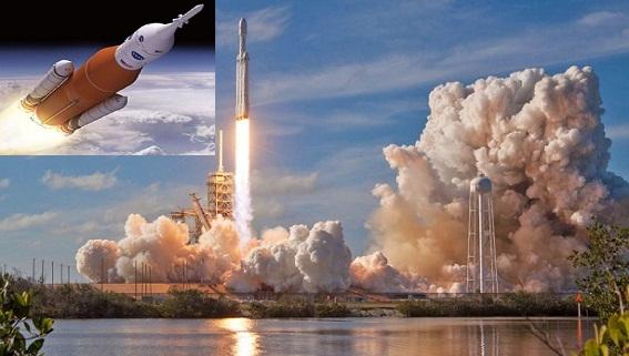 SpaceX chê tên lửa SLS của NASA là 'thảm kịch'