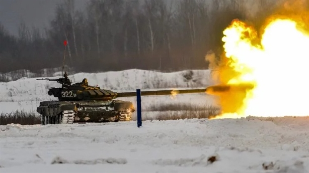 Đạn dưới cỡ Nga diệt tăng Abrams cách xa hơn 2km