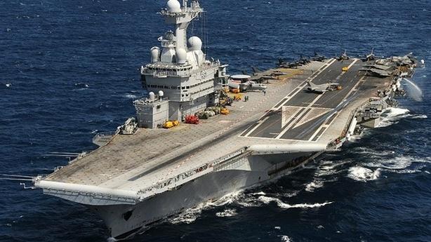 Pháp điều tàu sân bay sát Iran sau màn tấn công Syria