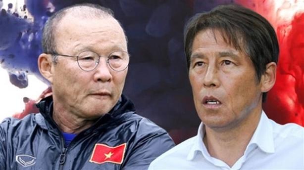 HLV Akira Nishino chê ông Park chỉ biết phòng ngự!