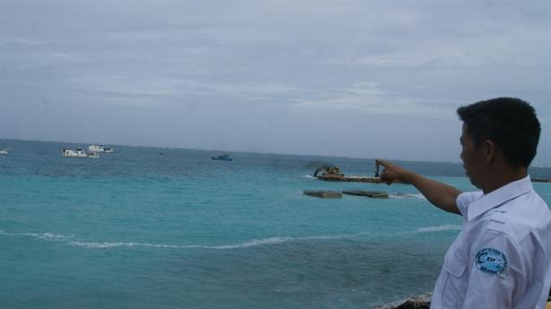 Điểm tựa hậu cần tại chỗ của ngư dân giữ biển