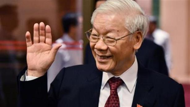 Tổng Bí thư Nguyễn Phú Trọng cảm ơn công dân Việt Nam