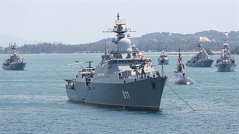Việt Nam mở rộng đội tàu mặt nước
