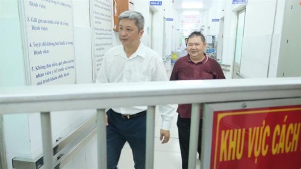 Hai người Trung Quốc nhiễm virus corona điều trị tại TP.HCM