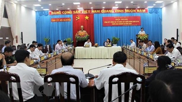 Kỷ luật Phó Trưởng ban Tổ chức Tỉnh ủy An Giang