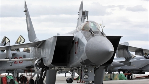 NATO bất an khi Quân khu Trung tâm nhận loạt MiG-31BM
