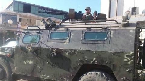 Đặc nhiệm Mỹ cản đường Thiếu tướng Nga tại Manbij