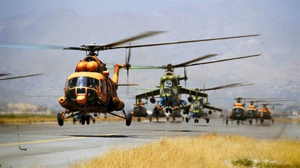 Thất vọng với Black Hawk, Afghanistan tái sử dụng Mi-17