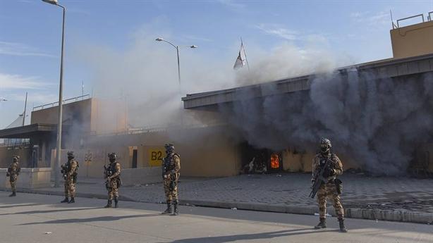 Cáo buộc Iran hậu thuẫn vụ tấn công ĐSQ Mỹ tại Iraq