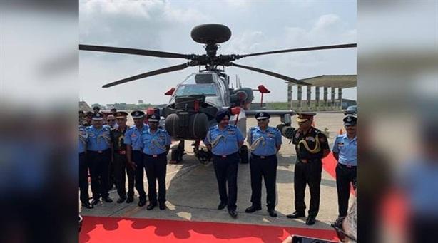 Cặp trực thăng hàng đầu Mỹ xuất hiện tại Ấn Độ